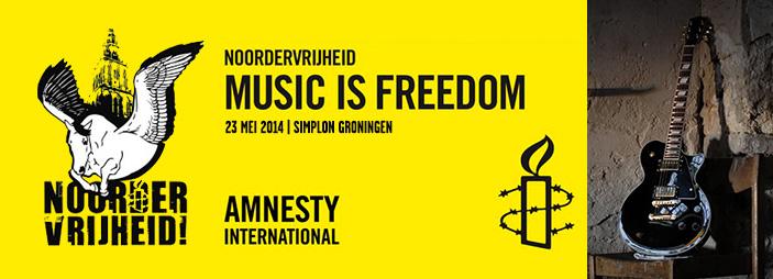 Amnesty International Noordervrijheid 2014